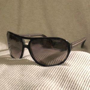 Authentic black Fendi sunglasses